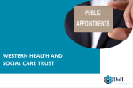 Western Trust Public Appointments Image