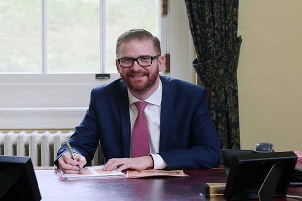 Minister SImon Hamilton
