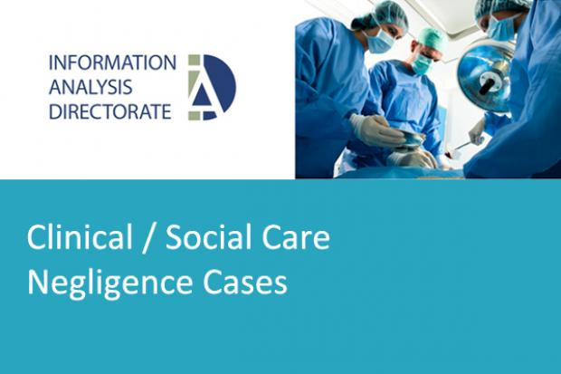 Clinical Social Care Negligence Image