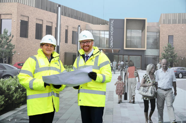Foster and Hamilton welcome progress on new Omagh Hospital