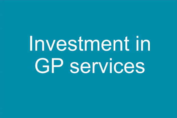 Investment in GP Services