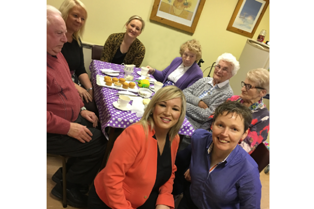 o neill recognises staff and volunteers at age ni department of health