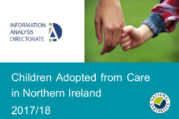 children adopted from care NI 2017-18