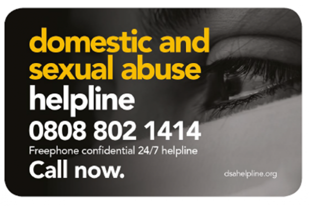 Domestic and Sexual Abuse Helpline image