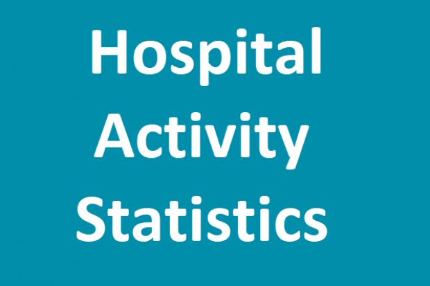 hospital activity statistics