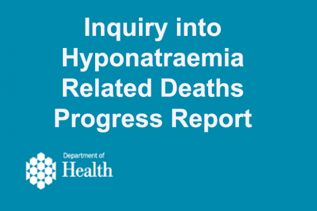 Inquiry into Hyponatraemia-Related Deaths latest news image