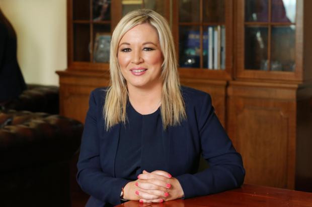 Health Minister Michelle O'Neill