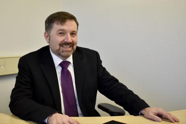 Health Minister Robin Swann