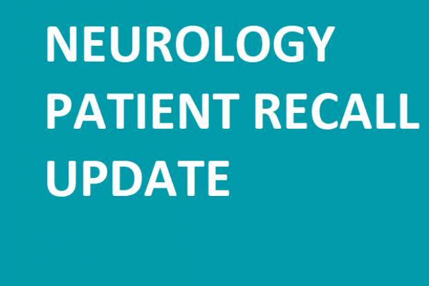 neurology patient recall