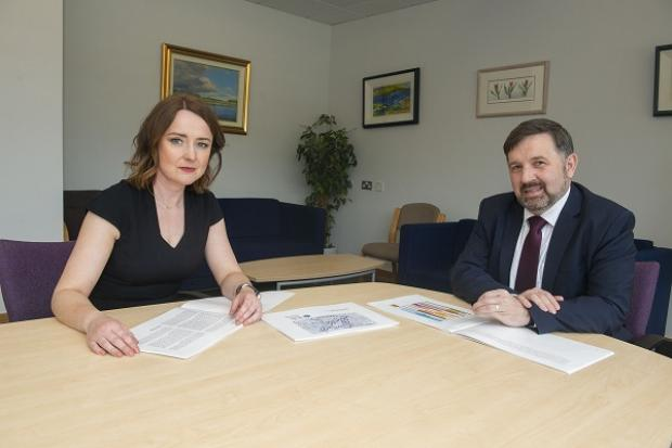 Siobhan O'Neill and Minister Swann
