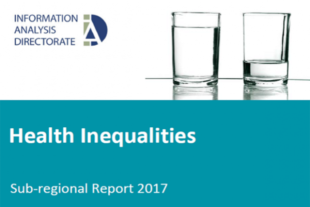 Health Inequalities Sub-regional Report 2017 Image