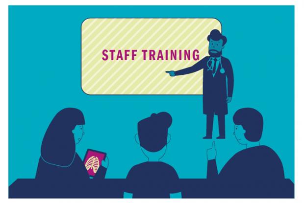 Staff training Image