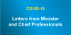 letters from minister and chief professionals
