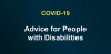 advice for people with disabilities